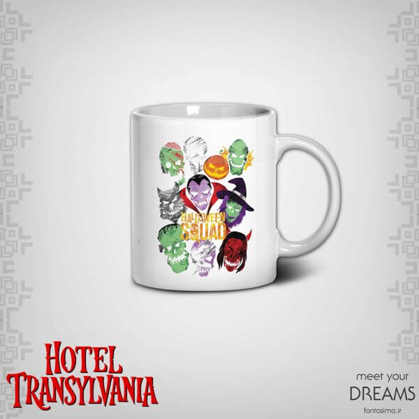 ماگ نقاشی شخصیت های هتل ترانسیلوانیا