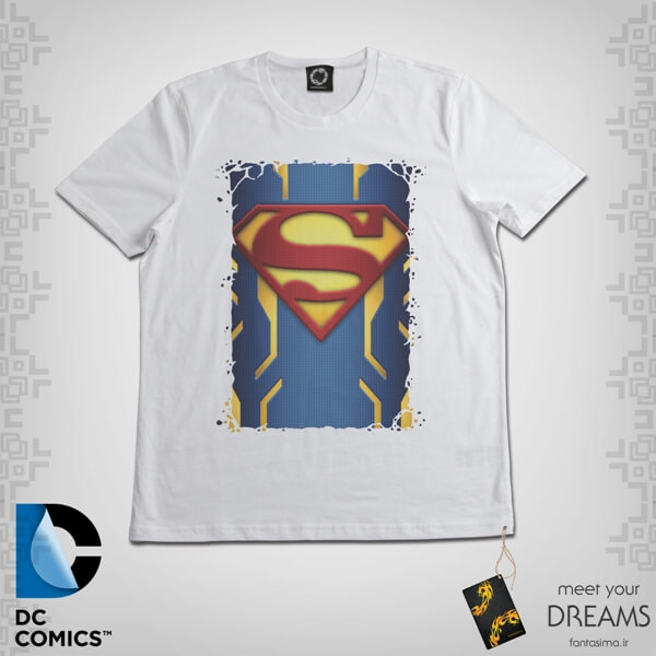 تیشرت فن ارت نماد سوپرمن