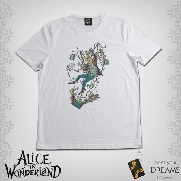 تیشرت آلیس خرگوش سفید