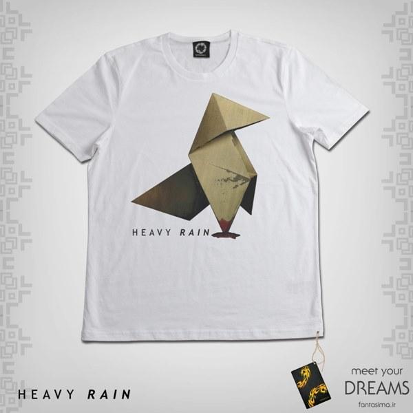 تیشرت نماد باران سنگین