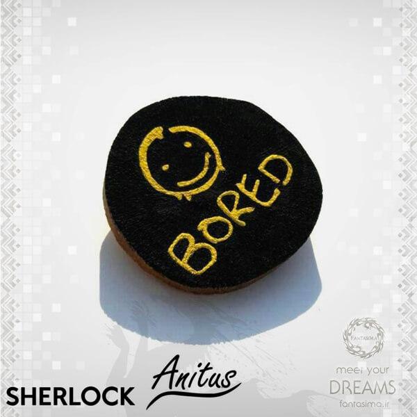 فانتزیآرت دکوری چوبی شرلوک -مدل دوم