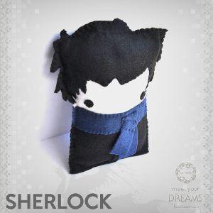 فانتزیآرت عروسک شرلوک