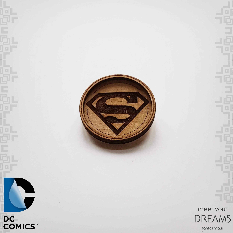 پیکسل چوبی سوپرمن