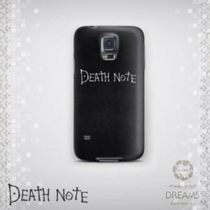قاب موبایل یادداشت مرگ